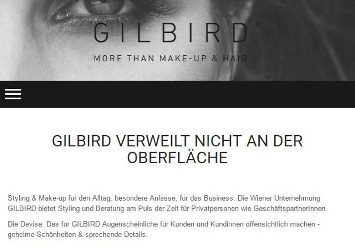 GILBIRD, Webtexte 2014